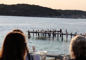Härlig kväll på altan med Rosé