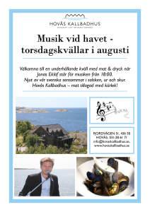Musik vid havet sommaren_ aug 2017