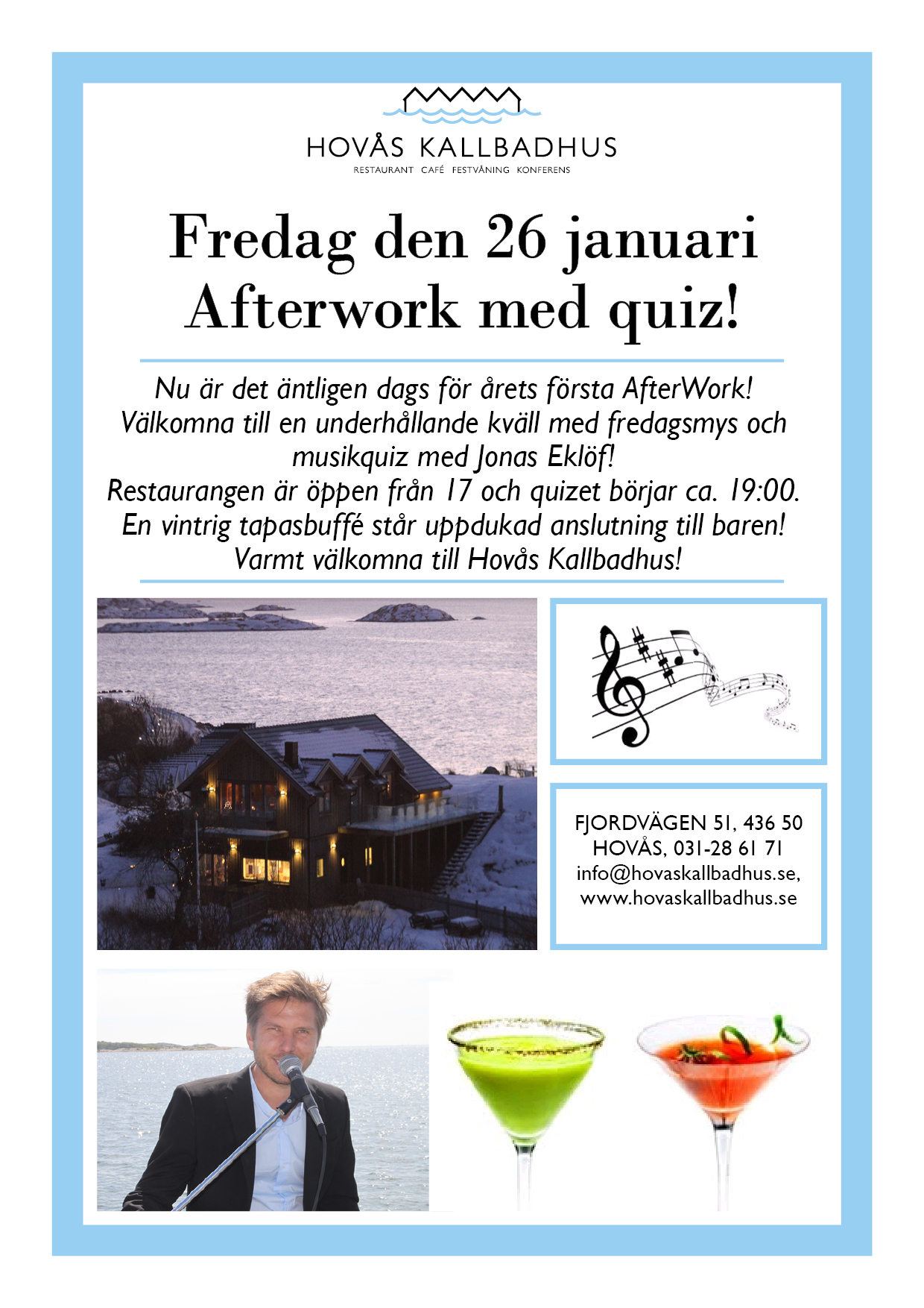 After Work 26 januari!
