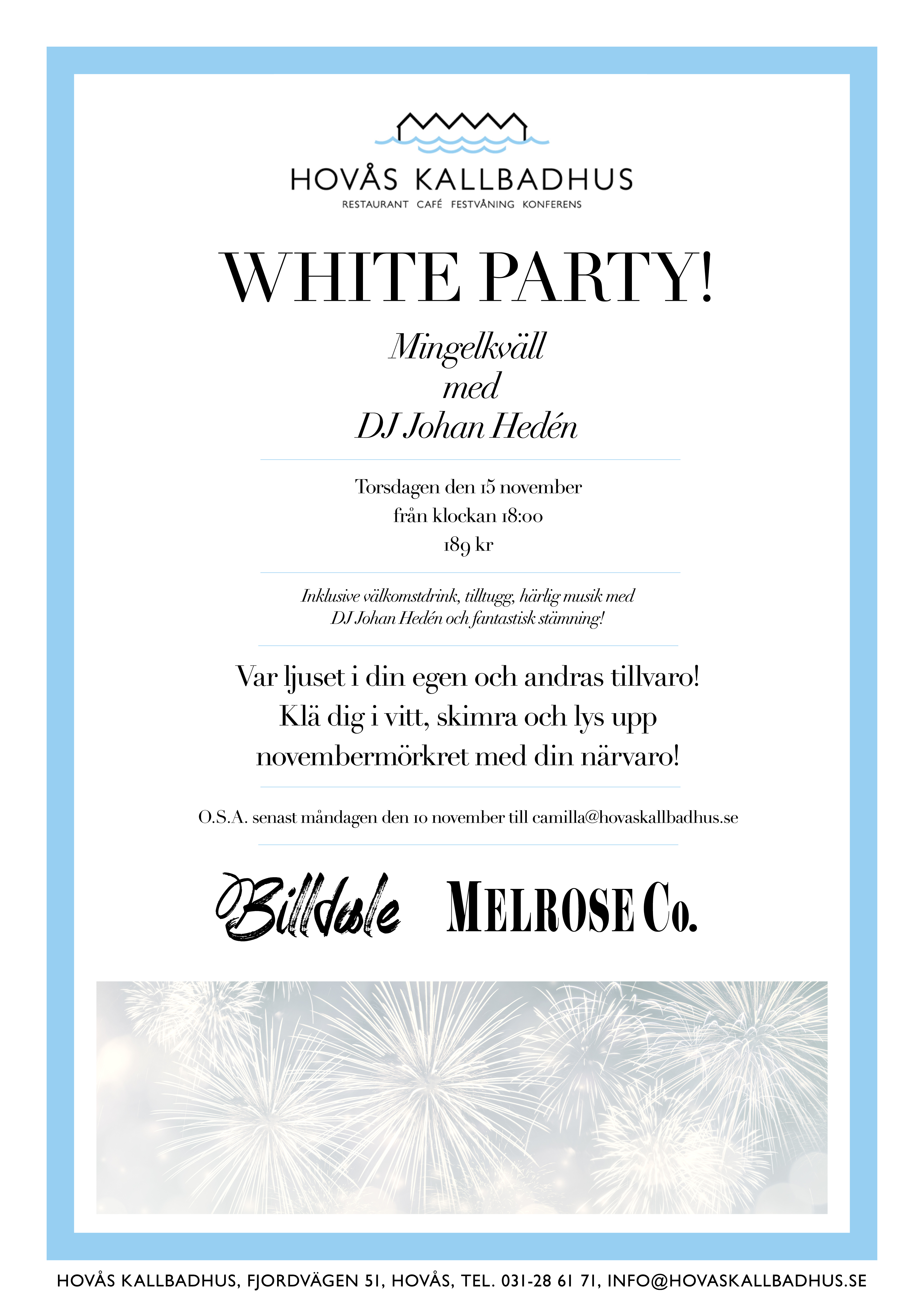 White Party! Mingle Event!